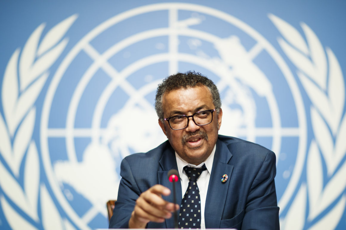 Director-General of the World Health Organization (WHO), Dr. Tedros Adhanom Ghebreyesus