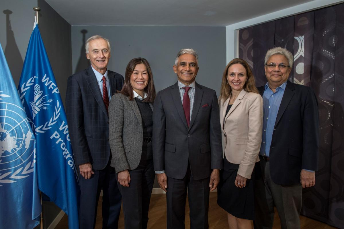 Left to Right: Mr. R. Samels (Canada), Ms. Elaine J. Cheung (China), Mr. S. Kana (South Africa) Chairperson 2017-2019, Ms. A. Slomka-Golebiowska (Poland), Mr. O. Goswami (India)