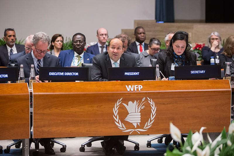 Monday morning session. Photo Credit: WFP/Giulio Napolitano