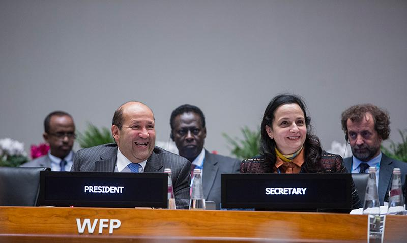 Tuesday afternoon session. Photo Credit: WFP/Giulio Napolitano