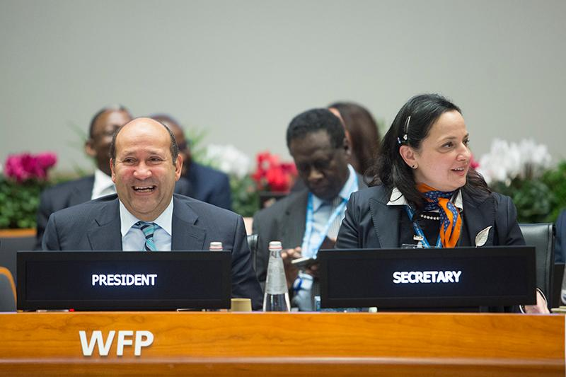 Thursday morning session. Photo Credit: WFP/Giulio Napolitano